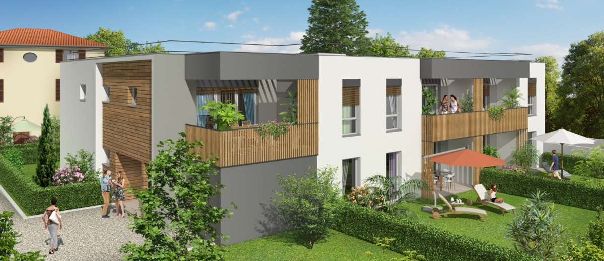 Programme immobilier neuf Vernaison proche Charly