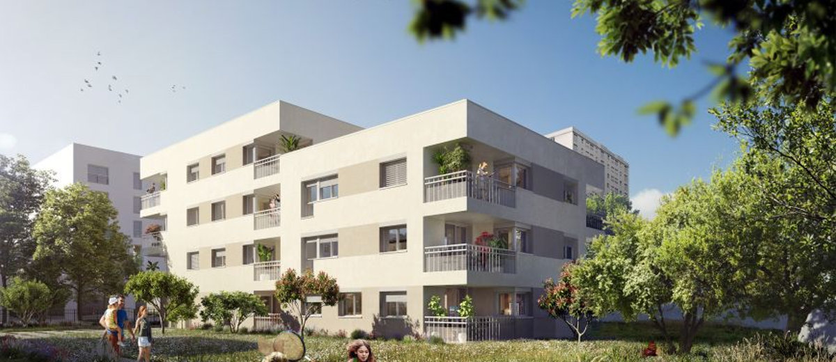 Programme immobilier neuf Bron Coeur nature (69500)