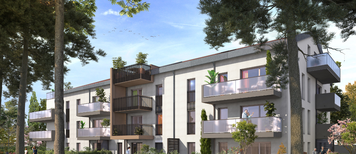 Programme immobilier neuf Champagne-au-Mont-d