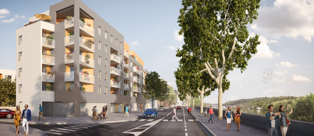 Programme immobilier neuf Givors centre-ville