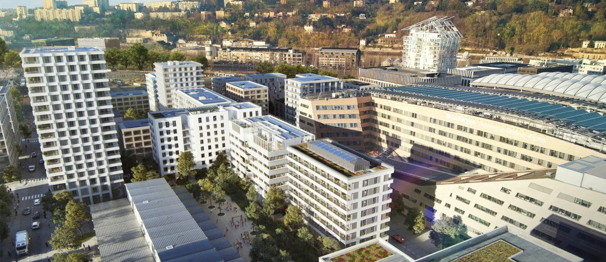 Programme immobilier neuf Lyon 2 Confluence coeur nature