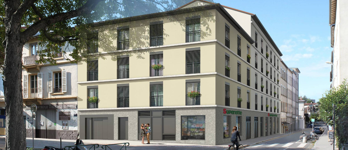 Programme immobilier neuf Lyon 5 Saint-Just
