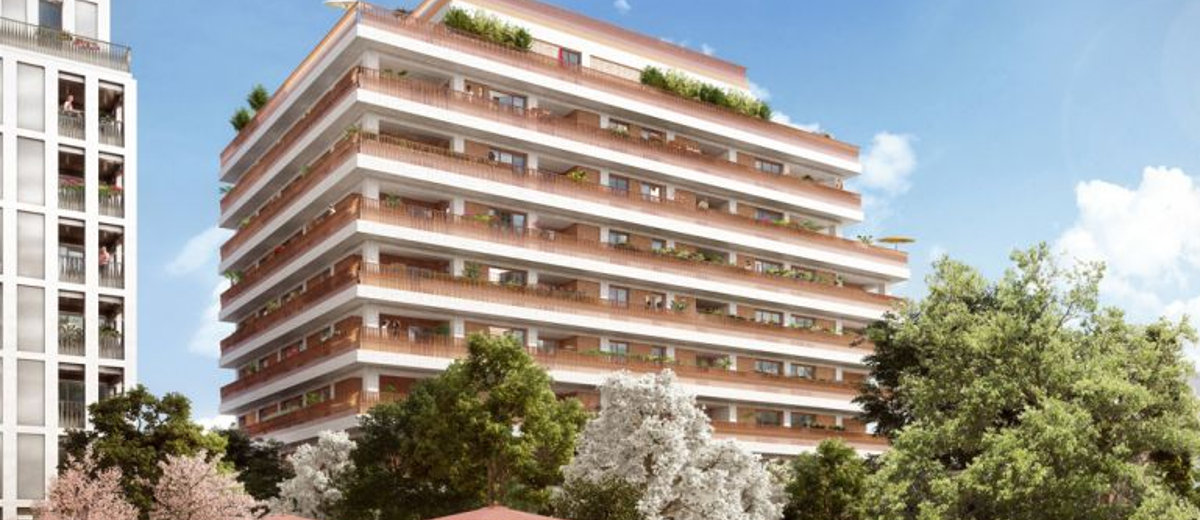 Programme immobilier neuf Lyon 7 Gerland