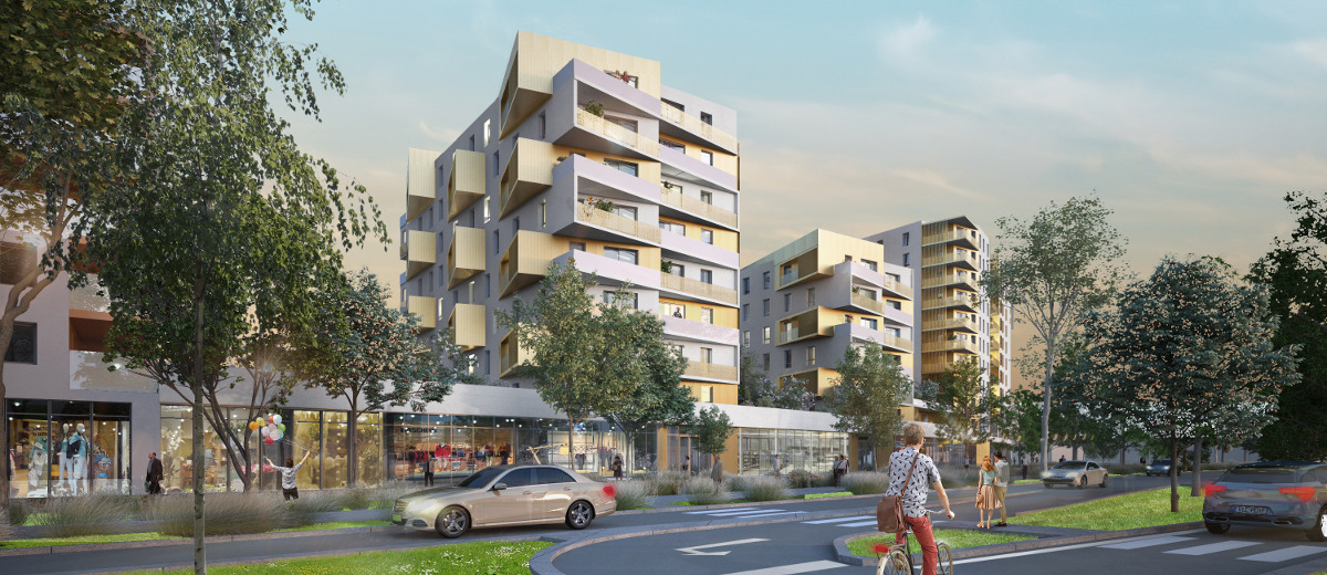 Programme immobilier neuf Vénissieux Grand Parilly