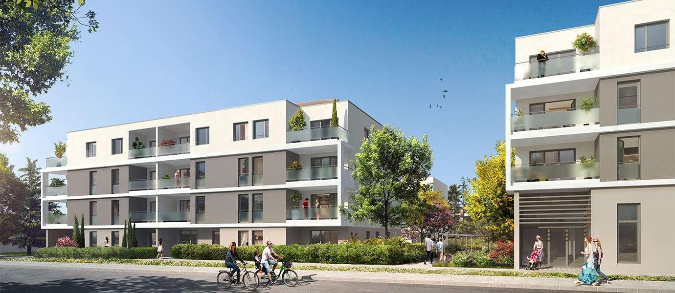 Programme immobilier neuf meyzieu 69330 immobilier for Prix m2 meyzieu