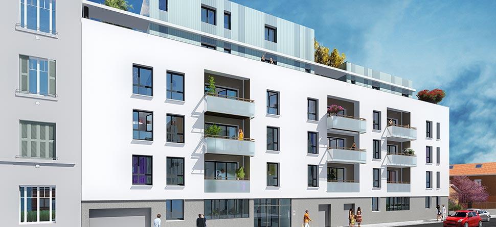 Programme Immobilier Neuf A Lyon 69003 Logement Neuf Lyon Grange