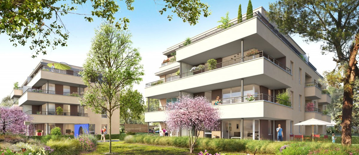 Programme immobilier neuf Champagne-au-Mt-d
