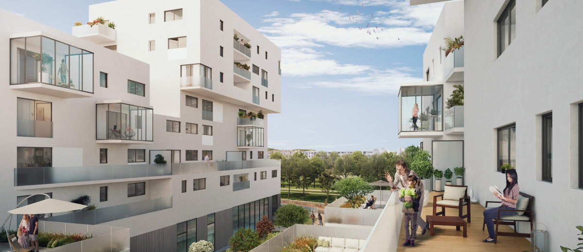 Programme immobilier neuf Vénissieux Parilly