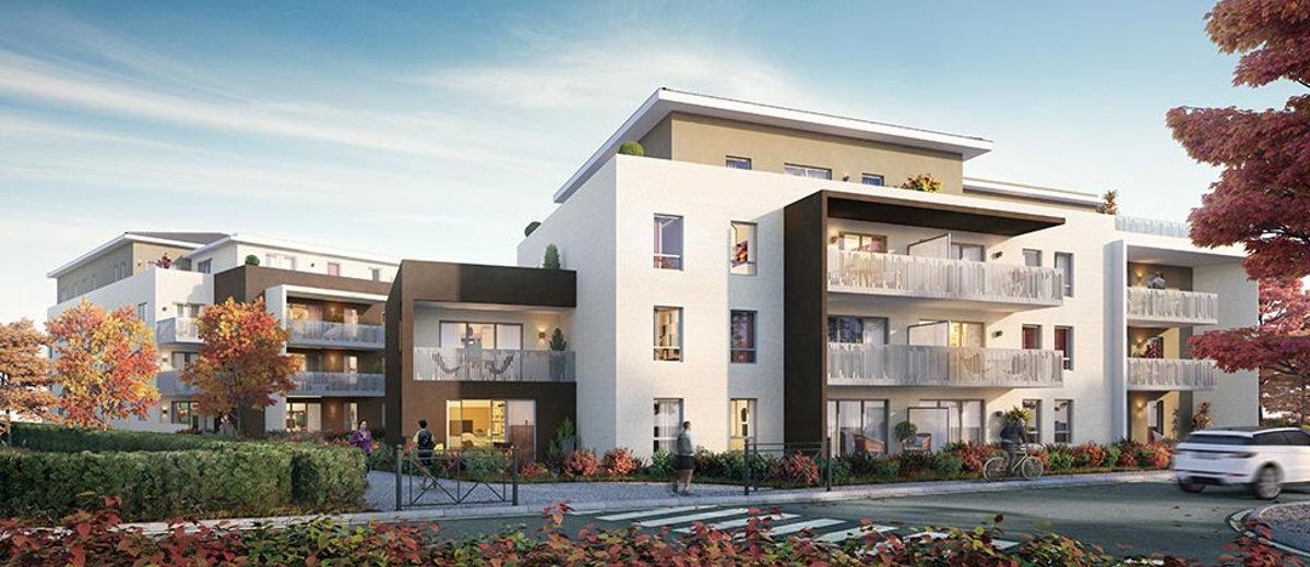 programme immobilier neuf v traz monthoux 74100. Black Bedroom Furniture Sets. Home Design Ideas